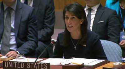 """alt=""""North Korea nuclear crisis: US seeks tough UN approach"""""""