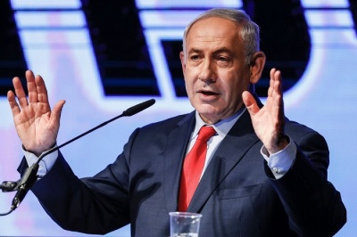 "alt=""Israeli PM sheds statesmanlike persona as scandals mount"""