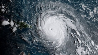 "alt=""Hurricane Irma damage considerable - Macron"""