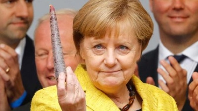 "alt=""Why is Angela Merkel headed for a 4th term? It's the German economy"""