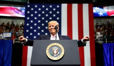 "alt=""Trump tweets threats against North Korea after U.N. speech"""