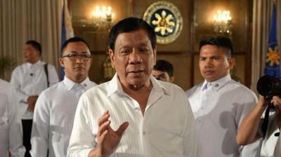 """alt=""""Shooting 'incident' occured near residence of Philippine leader Duterte"""""""