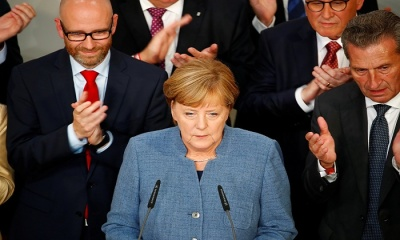 "alt=""A Fourth Term for Merkel in a Very Different Germany"""