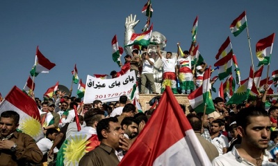 "alt=""Iraqi Kurds Choose Independence in Face of Regional Backlash"""