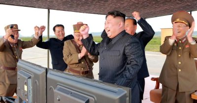 """alt=""""Only strategic market move to make next time N.Korea conducts a missile test"""""""