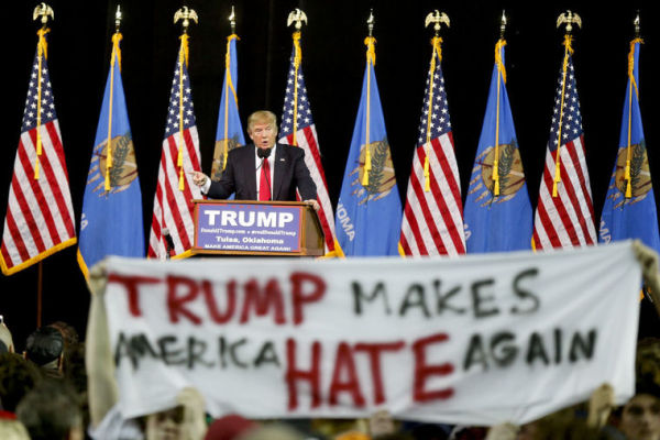 Trump Makes America Hate Again