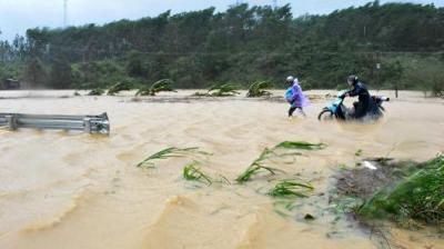 "alt=""Death toll from typhoon in Vietnam rises to 27"""