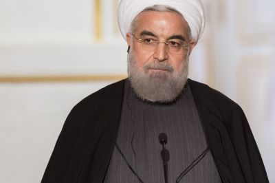 "alt=""Rouhani Urges Saudi Arabia to Avoid Teaming Up With U.S. and Israel"""