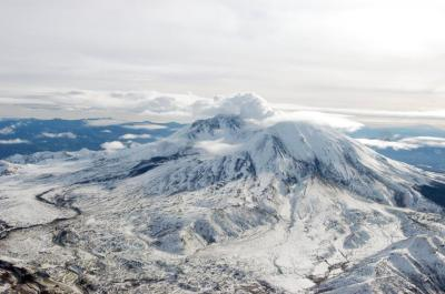 "alt=""Mt. St. Helens Is Rumbling Again With 40 Earthquakes Since New Years Day"""