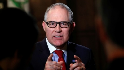 "alt="" EPA chief wants public debate on climate change, rollback of Obama regulations"""