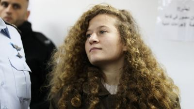 "alt=""Meet 17-year-old Ahed Tamimi, the new face of Palestinian resistance"""