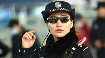 "alt=""Chinese police spot suspects with surveillance sunglasses"""