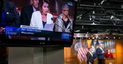 "alt=""Pelosi Held House Floor in Advocacy of 'Dreamers' for More Than 8 Hours"""