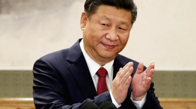 "alt=""China sets the stage for President Xi Jinping to rule indefinitely"""