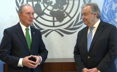 "alt=""Bloomberg Says Trump Can Be a 'Great Leader' if he Accepts Climate Deal"""