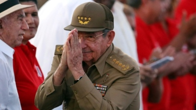 "alt=""Cuba holds vote for legislators as post-Castro era looms"""