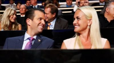 "alt=""Vanessa Trump files for divorce from Donald Trump Jr"""