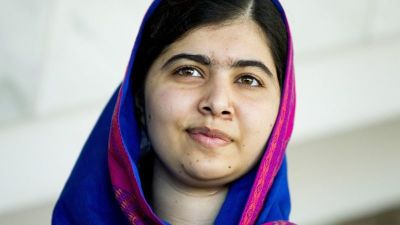 "alt=""Malala Yousafzai returns to Pakistan for first time since shooting"""