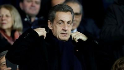 "alt=""Nicolas Sarkozy: France's ex-president to face corruption trial"""