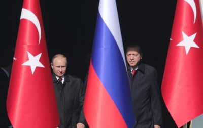 "alt=""Erdogan says Turkey, Russia may cooperate on defence projects besides S-400"""