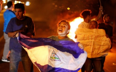 "alt=""Nicaragua cancels planned welfare overhaul in bid to end protests"""