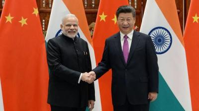 "alt=""China and India are trying to write a new page of the world economy"""