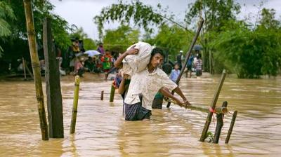 "alt=""Rohingya refugees facing looming threat – Bangladesh's monsoon season"""