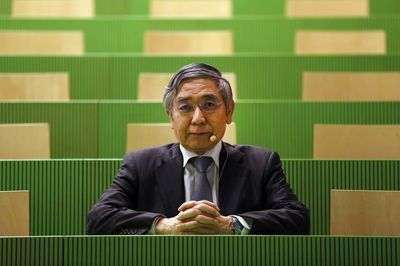 "alt=""BOJ May Be Thinking But Not Doing Exit in 2019, Kuroda Says"""