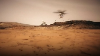 "alt=""Mars exploration: Nasa to send helicopter to red planet"""