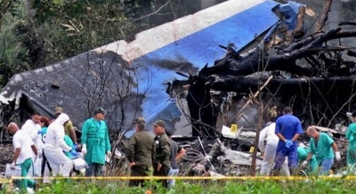 "alt=""Cuba plane crash leaves more than 100 dead"""