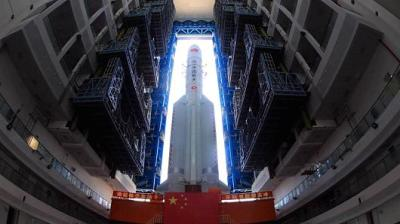 "alt=""China's space ambitions continue with launch of satellite to explore far side of the moon"""