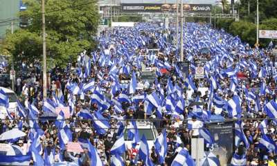 "alt=""Nicaragua: peace talks with Ortega abandoned after 11 killed at protest"""