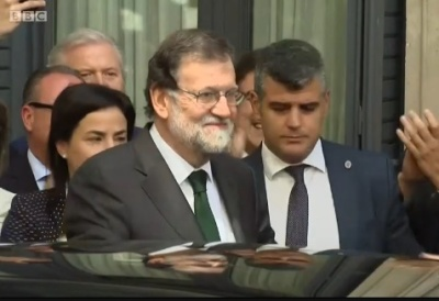 "alt=""Mariano Rajoy: Spanish PM forced out of office"""