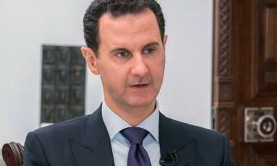 "alt=""Bashar al-Assad to visit North Korea, state media claims"""