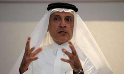 "alt=""Qatar Airways chief says only a man could do his job"""