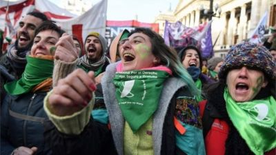 "alt=""Argentina steps closer to legalising abortion"""
