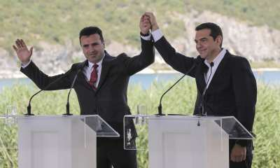 """alt=""""Macedonia changes name, ending bitter dispute with Greece"""""""