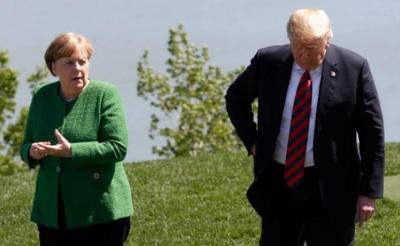 "alt=""Merkel to Trump: Falling German crime stats 'speak for themselves'"""