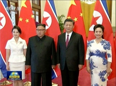 "alt=""North Korea's Kim makes another trip to China. That complicates things for Trump"""