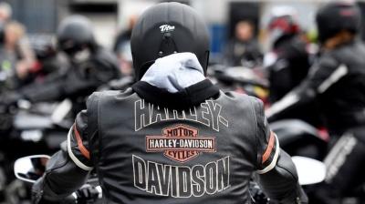 "alt=""Trump blasts Harley plan to shift U.S. production to avoid EU tariffs"""