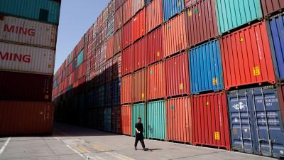 "alt=""Stock market posts partial rebound after trade-driven selloff"""