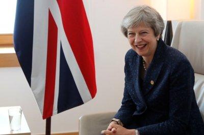 "alt=""Britain's May Wants Good Brexit Deal for UK, EU"""