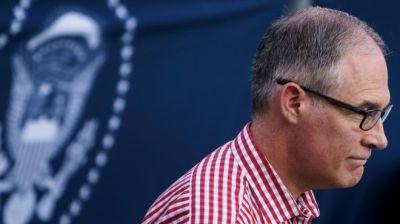 """alt=""""Scott Pruitt quits as head of US environment agency"""""""