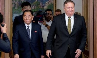 """alt=""""North Korea slams 'gangster-like' U.S. demands after satisfied Pompeo leaves"""""""