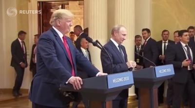 "alt=""Trump invites Putin to Washington despite U.S. uproar over Helsinki summit"""