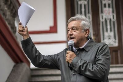 """alt=""""Mexico's AMLO Calls for Nafta Agreement in Letter to Trump"""""""