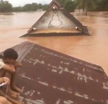 "alt=""Laos Dam Collapse Leaves Hundreds Missing and Homes Washed Away"""