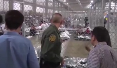 "alt=""Most children, parents separated at U.S.-Mexican border reunited"""
