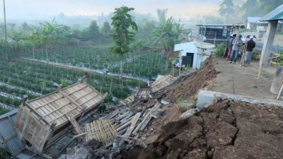 "alt=""Indonesia earthquake: 14 dead on tourist island of Lombok"""