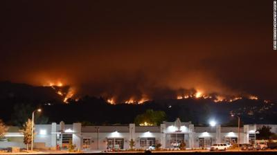 """alt=""""Suspect in Holy Fire that put 20,000 under evacuation order texted, 'The place is going to burn'"""""""